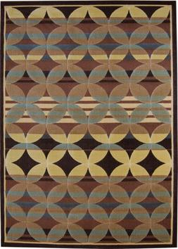 "Catalina Brown/Blue Rug Rug Size: 7'10"" x 10'5"""