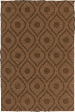 Artistic Weavers Central Park Brown Geometric Zara Area Rug
