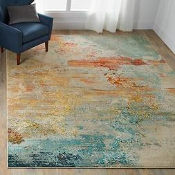 Nourison Celestial Modern Watercolor Area Rug Runner, 2'x6',
