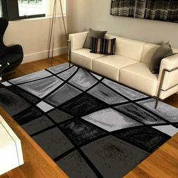 Chalk Fade Black/Gray Rugs / Area Carpet All Size By MSRUGS