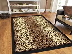 Large 8x11 Cheetah Rug Animal Print
