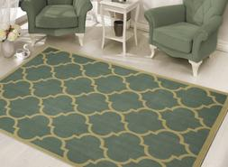 Sweet Home Stores Clifton Collection Sage Green Moroccan Tre