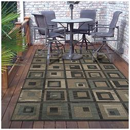 Superior Colburn Collection 4' x 6' Area Rug, Indoor/Outdoor