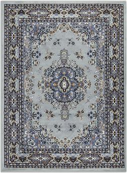 Home Dynamix Premium Collection Scatter Area Rug, Silver, 21