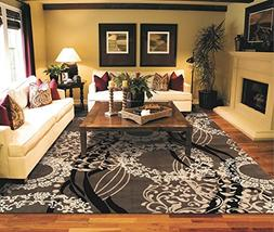 Contemporary Rugs 5x7 Brown