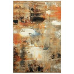 Contemporary Abstract Multi-Color Area Rug **FREE SHIPPING**