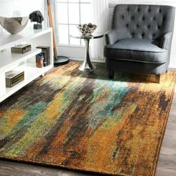 nuLOOM Contemporary Bohemian Norene Abstract Multi Area Rug