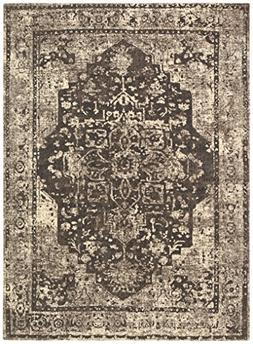Stone & Beam Contemporary Distressed Vintage Rug, 8' x 11',