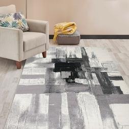 Rugshop Contemporary Modern Abstract Area Rug