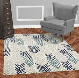 Diagona Designs Contemporary Modern Floral Design Area Rugs