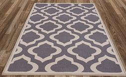 Diagona Designs Contemporary Moroccan Trellis Design Non-Sli