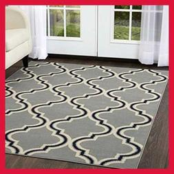 Contemporary Style Area Rug Premium Collection 5534 453 Be D