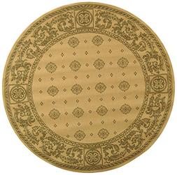 Safavieh Courtyard Collection CY1356-3001 Natural and Brown