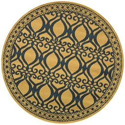 Safavieh Courtyard Collection CY3040-3001 Natural and Brown