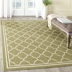 Safavieh Courtyard Collection CY6918-244 Green and Beige Ind