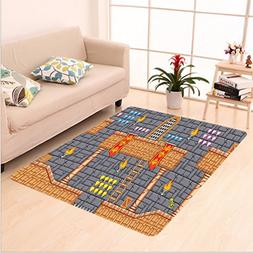 Nalahome Custom carpet Kids Decor Fantastic Electronic Super