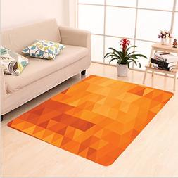 Nalahome Custom carpet r Triangle Mosaic Shaded Shapes And P