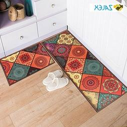 Cyber Monday Sale 2 Pcs Non-Slip Kitchen Mat Kids Machine Wa