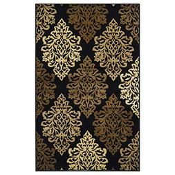 Superior Danvers Collection Area Rug, Modern Elegant Damask