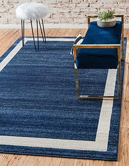 Unique Loom Loft Collection Contemporary Transitional Navy B