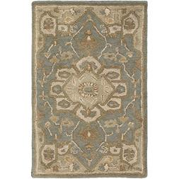 Art of Knot Demetrios Area Rug, 2' x 3', Gray
