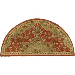 Art of Knot Demetrios Area Rug, 2' x 4' Hearth, Red