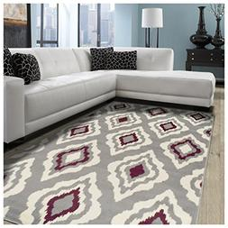Superior Diamond Collection Area Rug, 8mm Pile Height with J