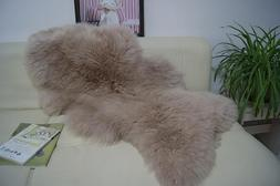 Dousha Genuine Sheepskin <font><b>Rug</b></font> Sofa Cover