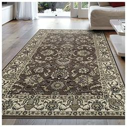 Superior Elegant Lille Collection Area Rug, 8mm Pile Height