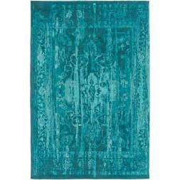 Artistic Weavers Elegant Maya Teal Rectangular: 2 Ft. x 3 Ft