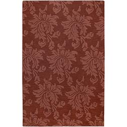 Art of Knot Eustis  Area Rug, 9' x 13' Rust