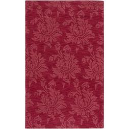 Art of Knot Eustis  Area Rug, 2' x 3' Dark Red