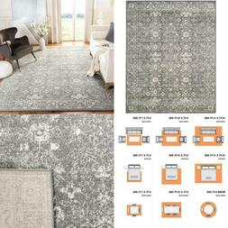 Evoke Grey/Ivory 8 Ft. X 10 Ft. Area Rug
