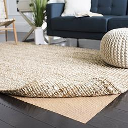 Safavieh Padding Collection PAD120 Beige Area Rug, 4 feet by