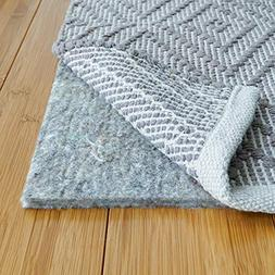 100% Felt Rug Pad - SAFE for all floors - Extra Thick - Add