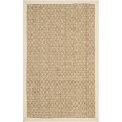 Safavieh Natural Fiber Collection NF114A Basketweave Natural