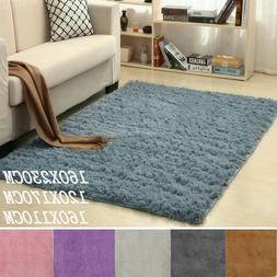 Floor Rugs Anti-Skid Shaggy Area Rug Dining Living Room Home