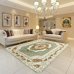 Floral Style Lving Room Carpet, HIGOGOGO 47 by 70 inch Ultra