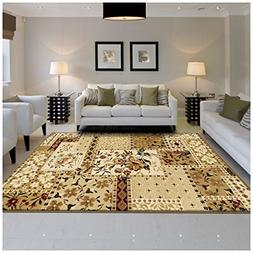 Superior Flower Patch Collection Area Rug, Beautiful Floral