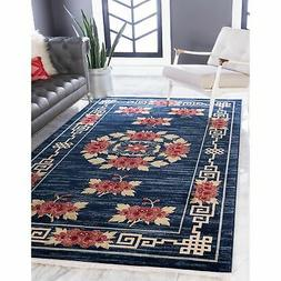 Unique Loom Gansu Blossom Area Rug