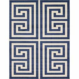 Unique Loom Greek Key Athens Area Rug