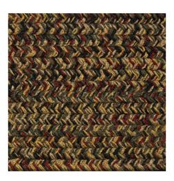 GREEN, RED, BLACK, GOLD,BROWN BRAIDED AREA RUGS BY COLONIAL