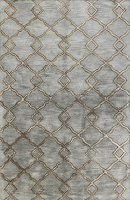 Bashian GREENWICH HG265 Collection Hand Tufted Wool & Viscos