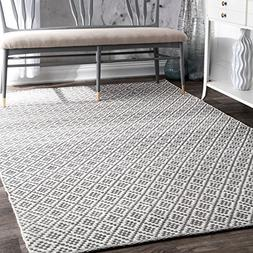 nuLOOM -508 Cottage Collection Hand Made Area Rug, 5' x 8',