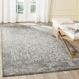 Grey / Ivory Safavieh Power Loomed Evoke Area Rugs - EVK256D