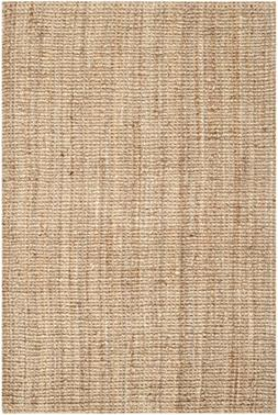 Hand-woven Weaves Natural-colored Fine Sisal Rug