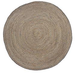 HF by LT Valencia Collection Round Area Rug, 5', Durable and
