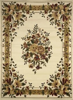 Home Dynamix Ivory Traditional - European Bordered Area Rug