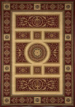 Home Dynamix Regency 8307-200 Red Area Rug