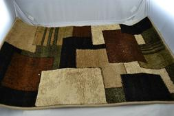 Home Dynamix Tribeca Area Rug,18.9x31.5, Abstract Brown/Gree